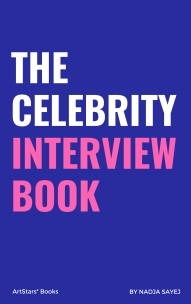 Celebrity interview book - cover